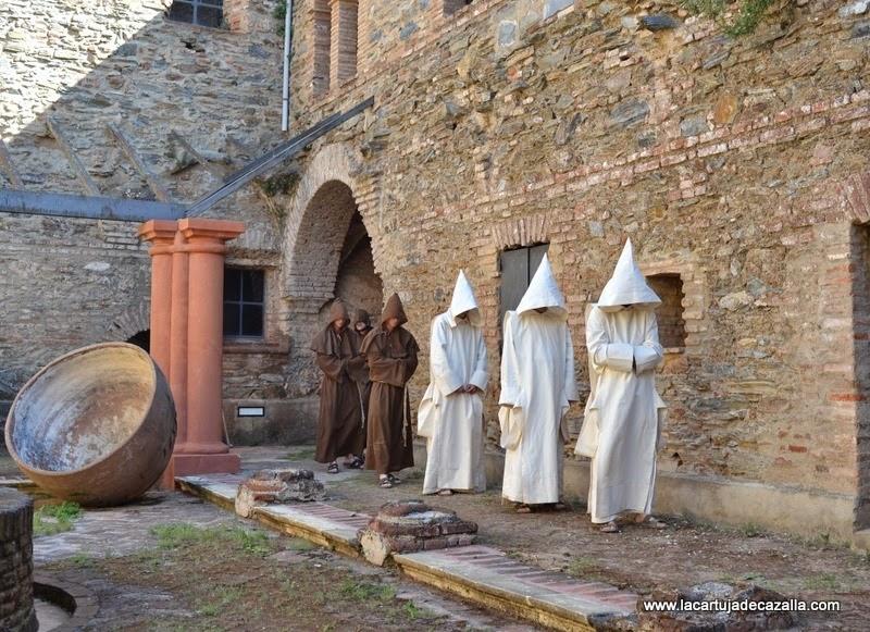 Resultado de imagen para monjes cartujos